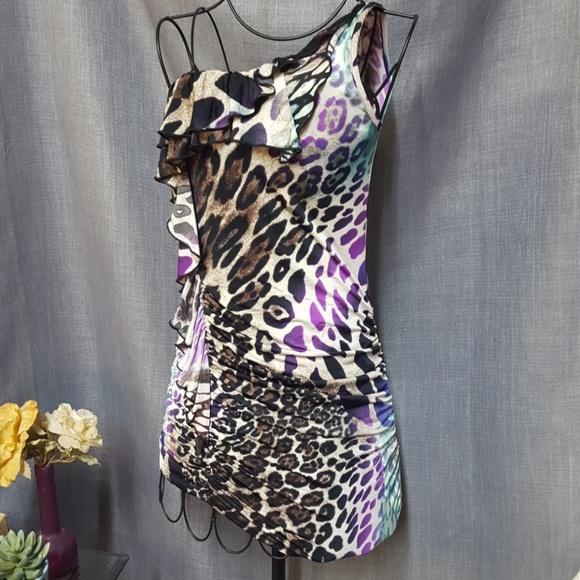 TRUE LIGHT Dresses & Skirts - True Light Leopard Dress or Long Top